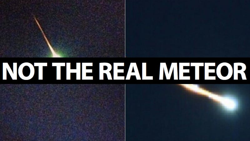 Illustration for article titled A Meteor Streaked Across the East Coast of the United States and No One Has a Damn Picture Of It Yet