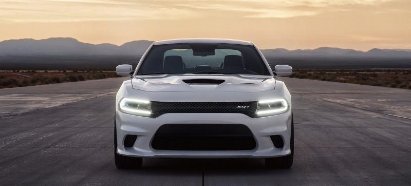 Illustration for article titled Is Your Car Faster Than The 204 MPH Dodge Charger Hellcat?