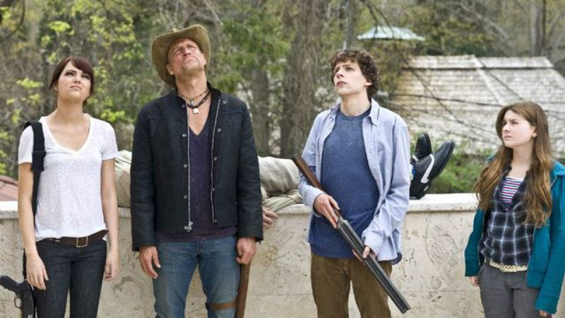 Illustration for article titled Zombieland sequel is very slowly rising from its grave