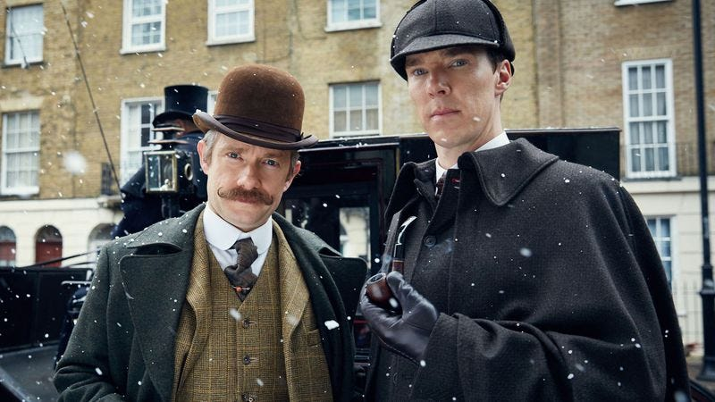 Illustration for article titled Mark Gatiss drops the first of probably many clues about Sherlock's return