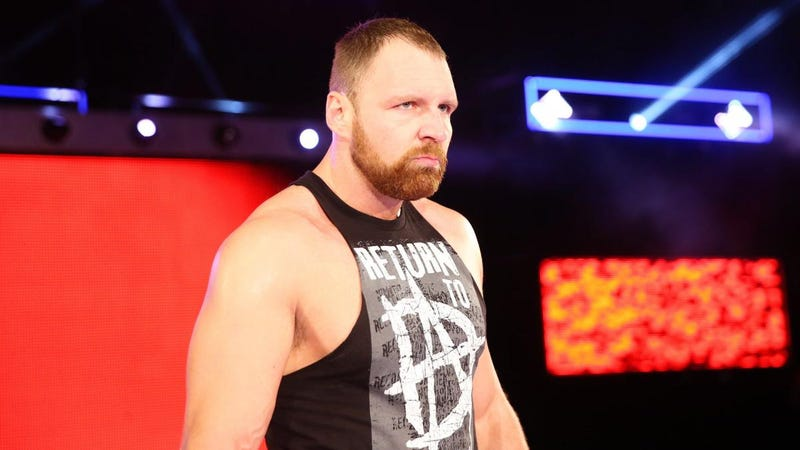 Dean Ambrose, complete with evil facial hair.