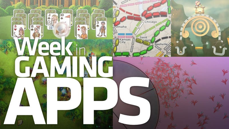 Illustration for article titled Five Mobile Games Combine to Form Week in Gaming Appicus