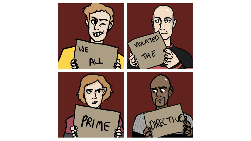 Illustration for article titled Here's How Starfleet Punishes Those Pesky Prime Directive Violations