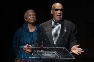 Bill Cosby and his wife, Camille Cosby, in 2009Bryan Bedder/Getty Images