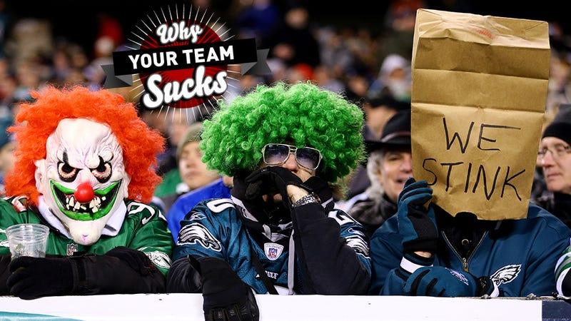 Illustration for article titled Why Your Team Sucks 2013: Philadelphia Eagles