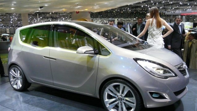 Opel meriva concept revealed hooray for suicide doors for Garage opel nice
