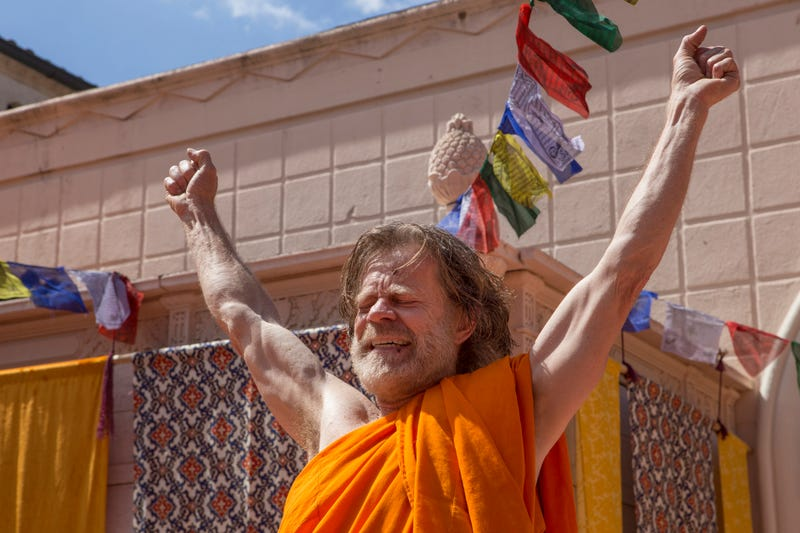 William H. Macy as Frank Gallagher in Shameless (Photo: Paul Sarkis/Showtime)