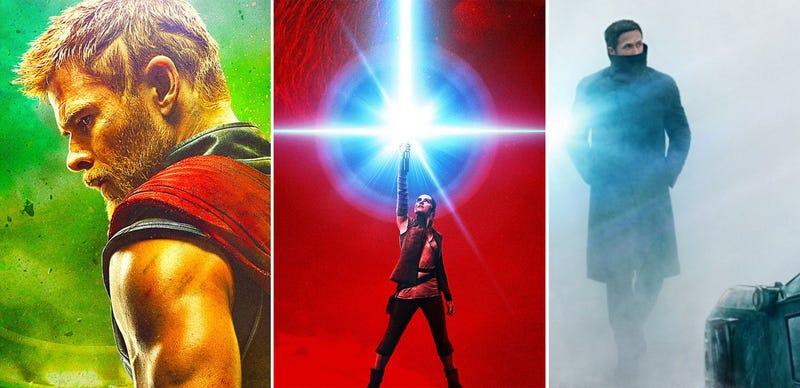 Thor//The Last Jedi/Blade Runner. Imagen: Carlos Zahumenszky / Gizmodo en Español