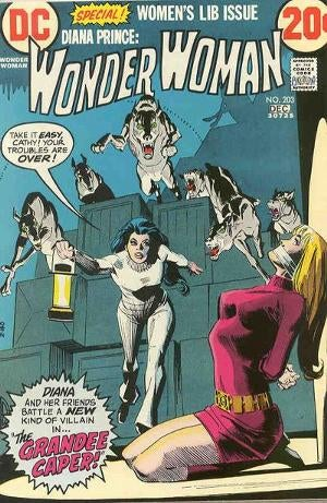 Illustration for article titled That time Samuel R. Delany wrote a couple issues of Wonder Woman