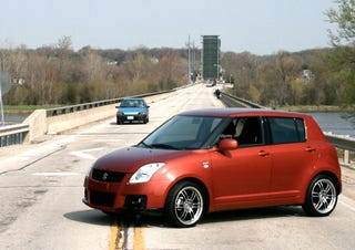 Illustration for article titled 2008 Suzuki Swift: Around The Block