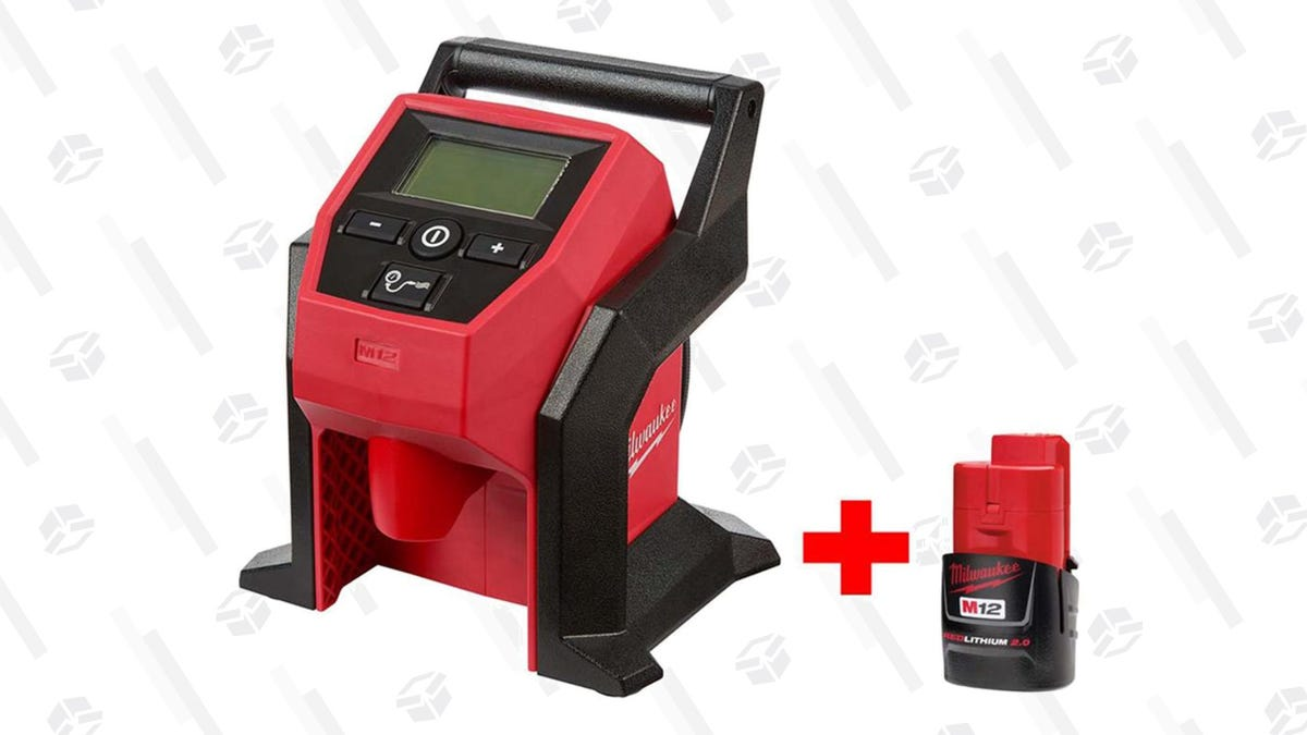 Nail Down a Bunch of Savings During This One-Day Sale on Nailers and Compressors