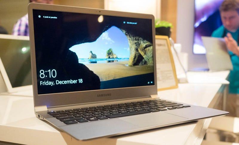 Illustration for article titled Samsung lleva el concepto ultrabook al extremo con sus nuevos portátilesNotebook 9