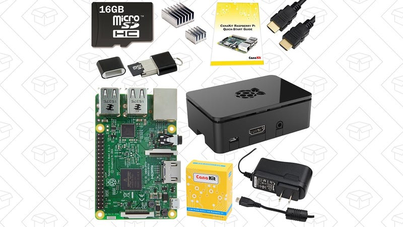 Raspberry Pi 3 Complete Starter Kit | $50 | Woot | After $5 shipping and $20 instant rebate (shown at checkout)