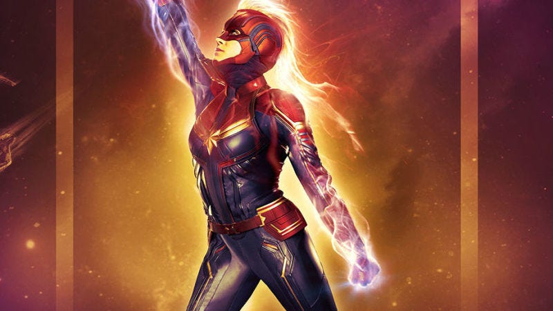 Illustration for article titled El nuevo tráiler de Captain Marvel tiene como protagonistas a los Skrulls y espectaculares explosiones de fotones