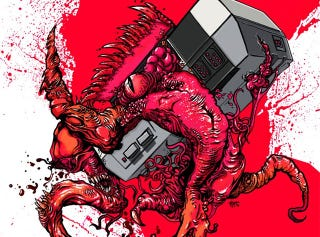 Illustration for article titled The Goriest Nintendo Entertainment System