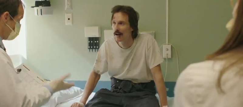 Illustration for article titled Matthew McConaughey Is Mad Skinny in the Dallas Buyers Club Trailer