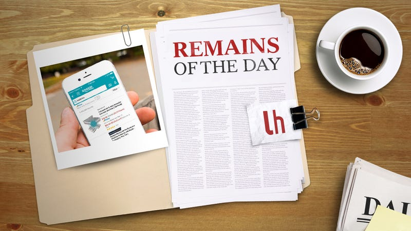 Illustration for article titled Remains of the Day: Now You Can Talk to Alexa on Your iPhone
