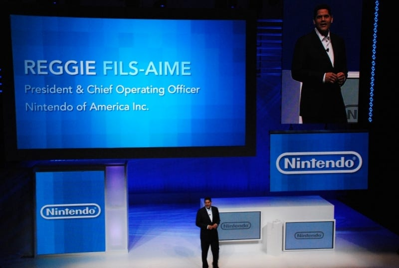 Illustration for article titled Nintendo's Reggie Finds Natal 'Ironic,' Talks Facebook, Virtual Console