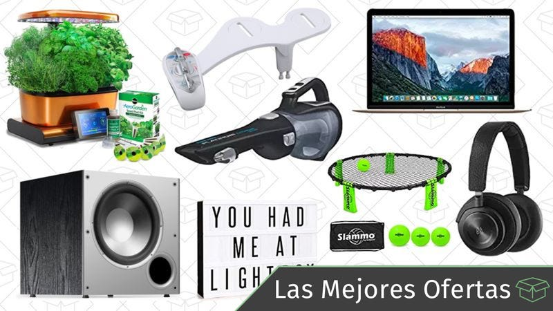 Illustration for article titled Las mejores ofertas de este jueves: MacBooks, auriculares 'over-ear', bidet con agua caliente y más