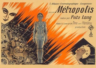 Illustration for article titled Behind the Scenes Photos of Metropolis with Robots and Stuff
