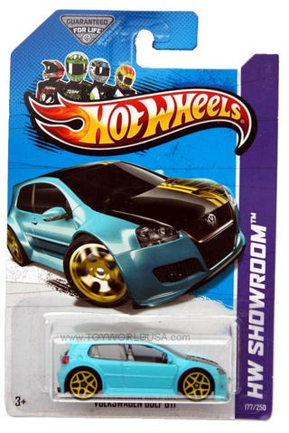 Illustration for article titled Mee's a only has a one Hotwheels toy.