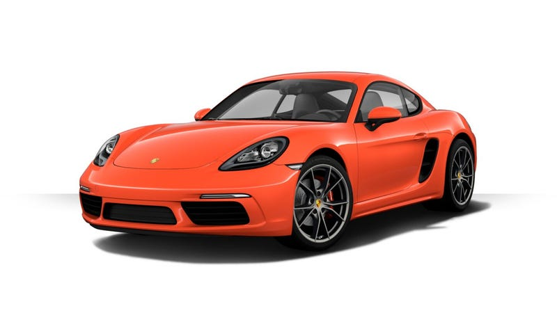 Illustration for article titled How Would You Spec Your Porsche 718 Boxster Or Cayman?