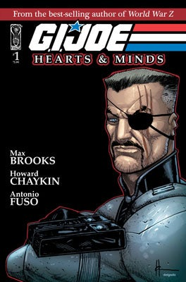 "Illustration for article titled World War Z's Max Brooks To Write ""Dark"" G.I. Joe Comic"