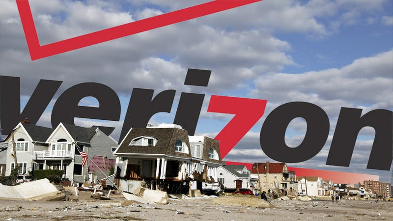 Illustration for article titled Verizon Won't Rebuild Its Landline Network in Some Sandy-Affected Areas