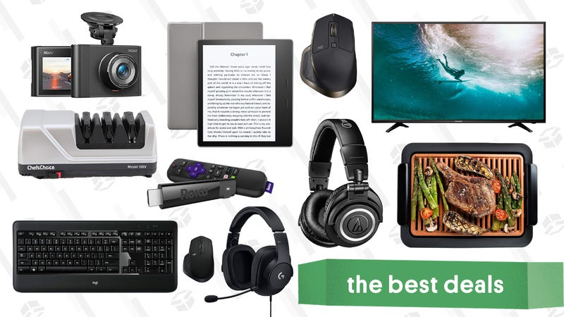 Illustration for article titled Thursday's Best Deals: AirPods, Logitech Gold Box, Roku Streaming Stick+, BAGGU, and More
