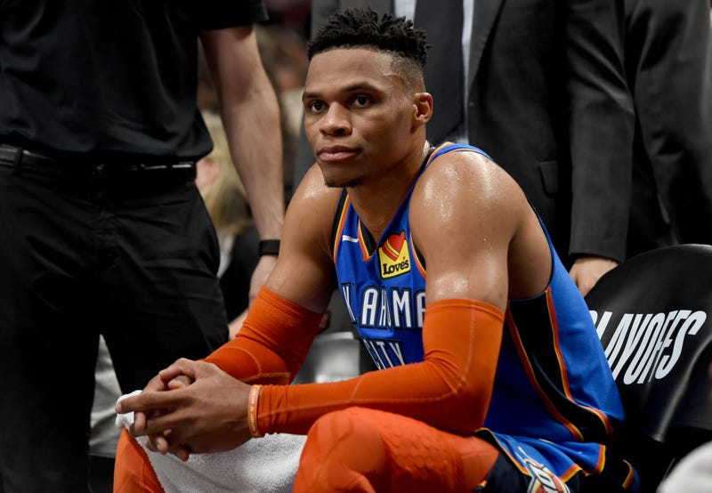 Illustration for article titled Russell Westbrook Considers Russell Westbrook