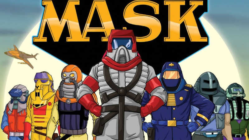 m a s k will be the next 80s cartoon to get a movie and boy does