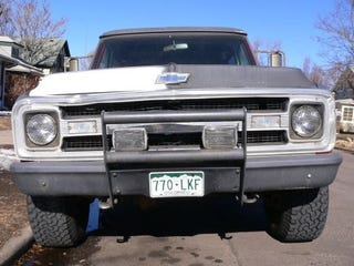 Illustration for article titled 1969 Chevrolet Blazer