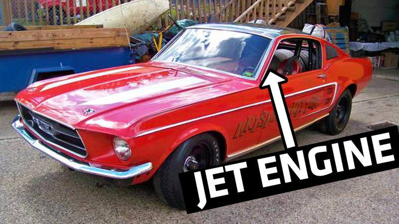 Is This 308 MPH Jet Dragster The Coolest Mustang On Sale ...