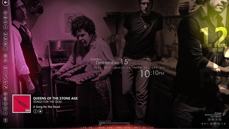 Illustration for article titled The Zune Tribute Desktop