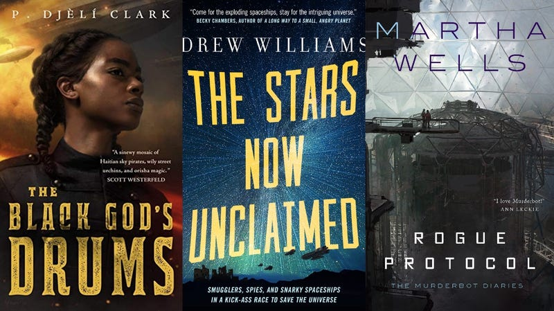 All of these books, and more, are part of the four-month e-book embargo.