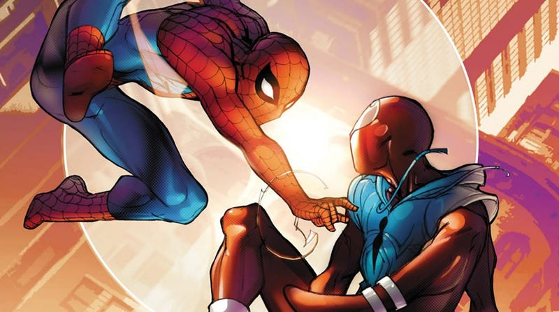 Illustration for article titled Does it matter that Spider-Man is a different character on TV, movies and comics?