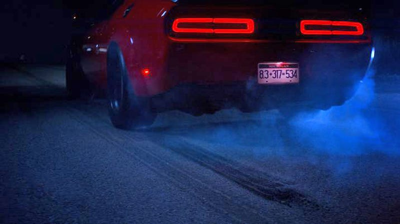 Illustration for article titled The Dodge Challenger Demon Might Only Be Available With An Automatic