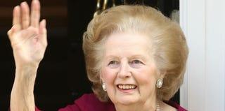 Margaret Thatcher (Dan Kitwood/Getty Images)