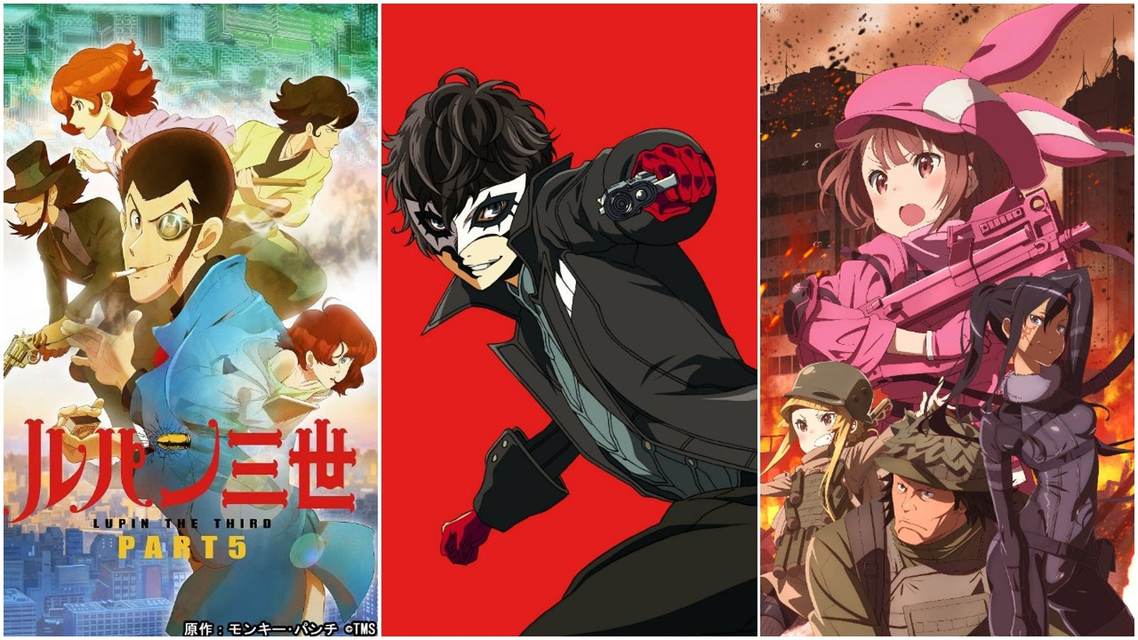 Your Spring 2018 Anime Guide Updated