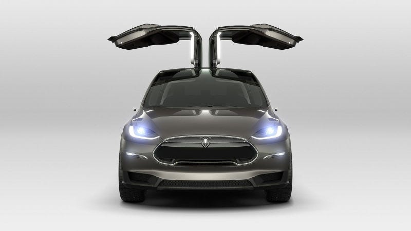 Illustration for article titled The Tesla Model X Will Have A 257-Mile Range: EPA