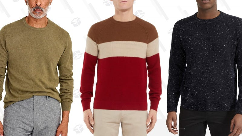 Illustration for article titled The Best Cashmere Sweaters In Your Price Range