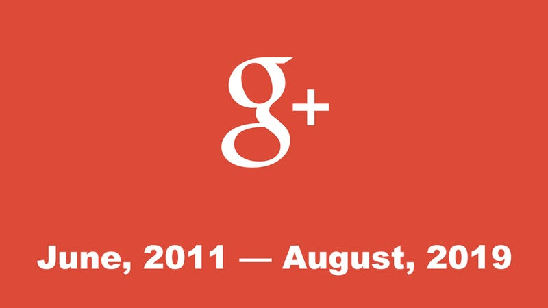 Google's Failed Social Network, Google+, Will Be No More