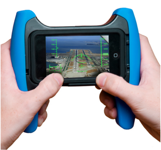 Illustration for article titled iPhone Too Portable? Try The Marware Game Grip™