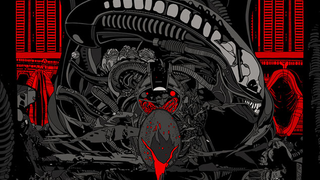 Illustration for article titled This Brilliant Tyler Stout Alien Poster Is Going On Sale Friday