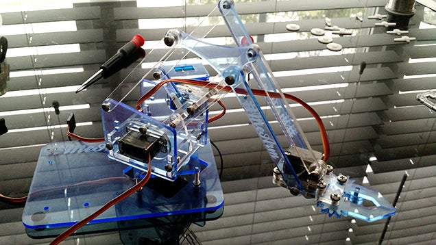 Molto Build a Kickass Robot Arm: The Perfect Arduino Project for Beginners ZL33
