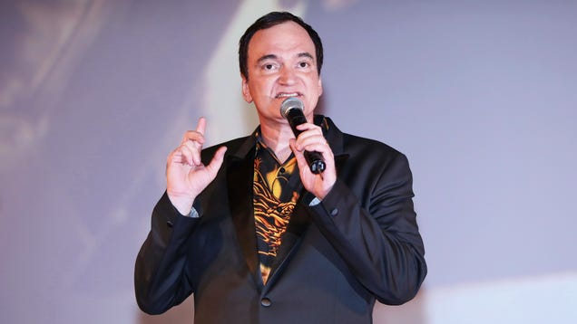 """Quentin Tarantino says he's still stopping after one more """"epilogue-y"""" film"""