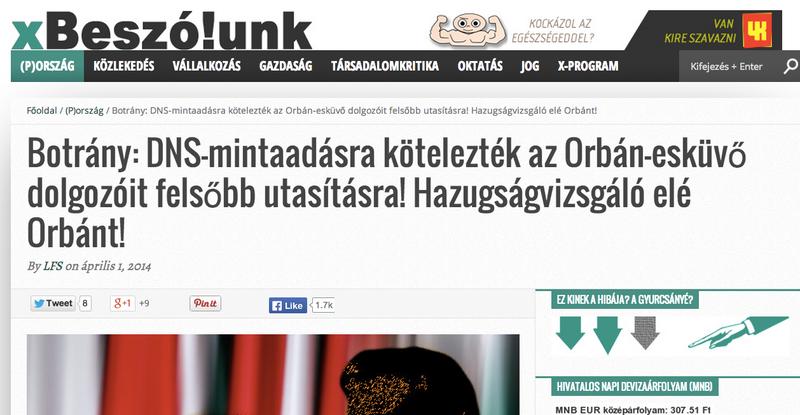 Illustration for article titled Az Orbán-lagzin eltűnt egy telefon, tömeges DNS-vizsgálatot tartottak