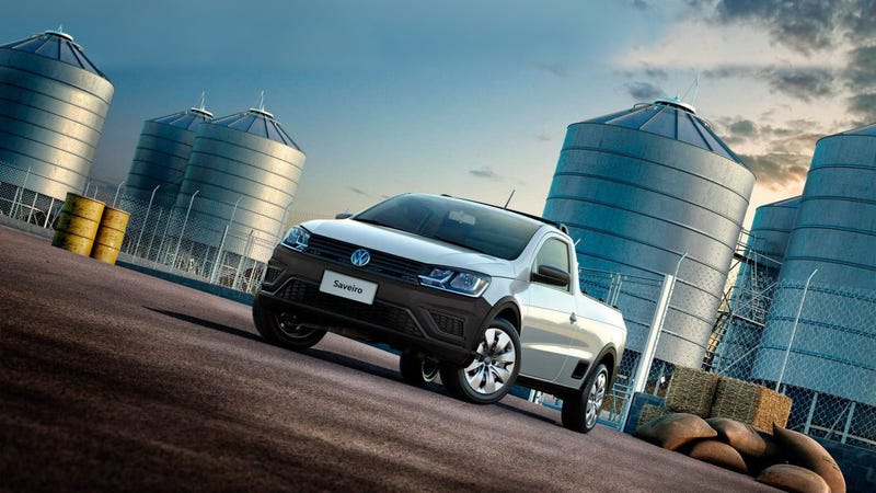 Illustration for article titled Volkswagen Already Makes The Perfect Pickup Truck, You Just Don't Know About It