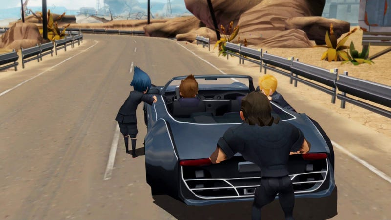Screenshot from the mobile version of Final Fantasy XV, Pocket Edition, which might make a good fit on Nintendo Switch