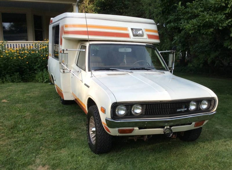For $9,900, Is This 1979 Datsun-Based Chinook Totally Trippy?